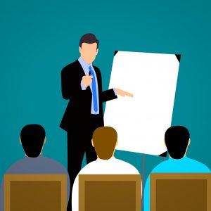 An illustration of corporate training