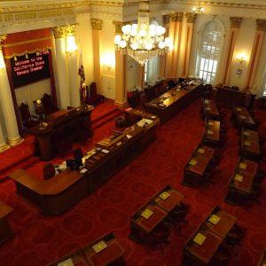 The California Senate Chamber